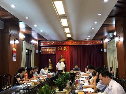 Ủy ban MTTQ Việt Nam TP Hà Nội duyệt công tác chuẩn bị Đại hội đại biểu huyện Sóc Sơn lần thứ X, nhiệm kỳ 2019-2024