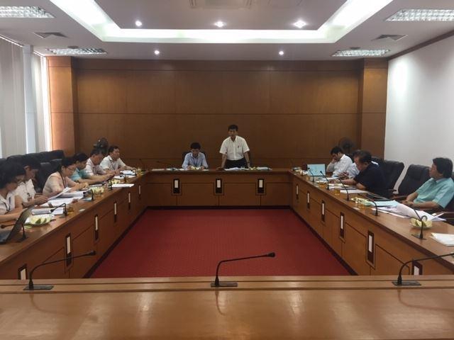 Đoàn công tác Ủy ban MTTQ Việt Nam thành phố Hà Nội kiểm tra, duyệt công tác chuẩn bị Đại hội MTTQ quận Long Biên