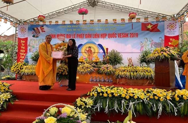Ban Trị sự Giáo hội Phật giáo Việt Nam quận Cầu Giấy tổ chức Đại lễ Phật Đản Phật lịch  2563 – Dương lịch 2019