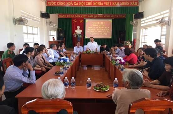 Huyện Thanh Trì thăm, tặng quà và hỗ trợ xây nhà Đại đoàn kết cho hộ nghèo xã Đông Thanh, huyện Lâm Hà, tỉnh Lâm Đồng