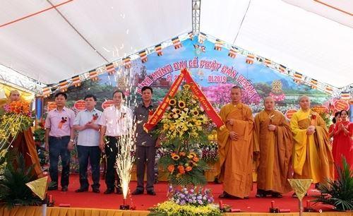 Giáo hội Phật giáo Việt Nam huyện Chương Mỹ tổ chức Đại lễ Phật đản, Phật lịch 2563 - Dương lịch 2019 tại chùa Pháp Lôi