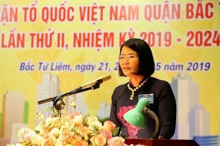 Đại hội đại biểu MTTQ Việt Nam quận Bắc Từ Liêm lần thứ II, nhiệm kỳ 2019 – 2024.