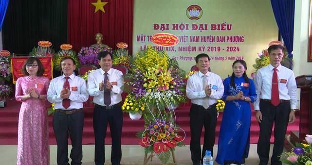 Đại hội Đại biểu MTTQ Việt Nam huyện Đan Phượng lần thứ XIX, nhiệm kỳ 2019- 2024