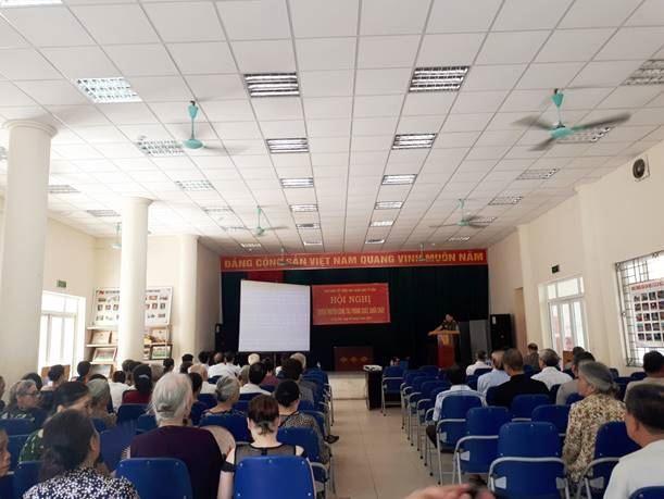 Quận Nam Từ Liêm tổ chức hội nghị tuyên truyền công tác phòng cháy, chữa cháy cho đồng bào Công giáo trên địa bàn quận