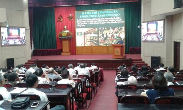 Ủy ban MTTQ Việt Nam quận Thanh Xuân tập huấn về công tác vệ sinh an toàn thực phẩm
