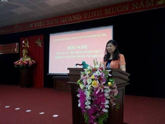Đại biểu HĐND Thành phố tiếp xúc với cử tri Thanh Trì trước kỳ họp thứ 9 HĐND Thành phố khóa XV
