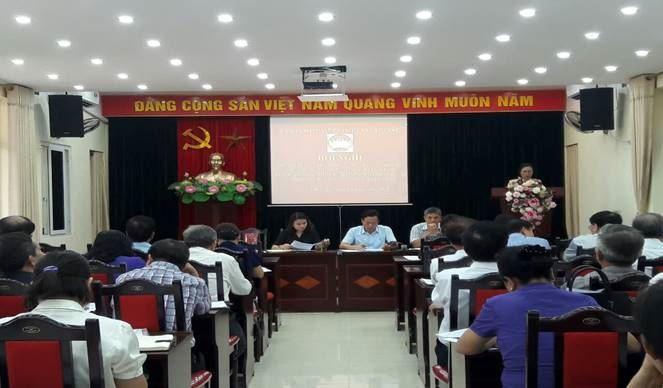 Ủy ban MTTQ Việt Nam quận Cầu Giấy phản biện xã hội về dự thảo báo cáo của UBND quận trình tại kỳ họp thứ 11 HĐND Quận khóa V nhiệm kỳ 2016-2021