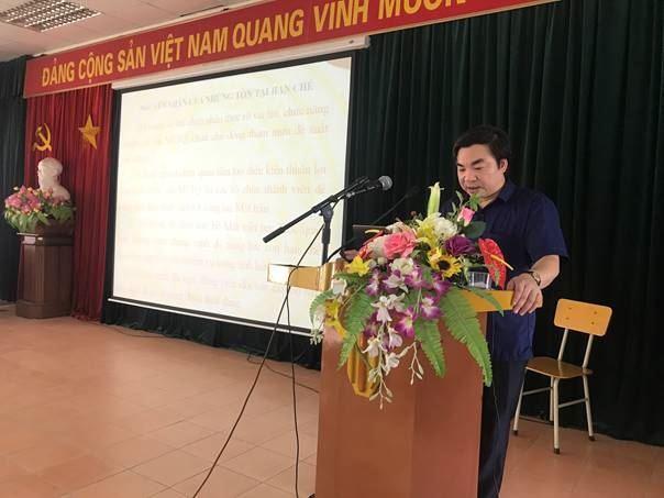 Hội nghị quán triệt Nghị quyết Đại hội đại biểu MTTQ Việt Nam quận Nam Từ Liêm lần thứ II (nhiệm kỳ 2019-2024)