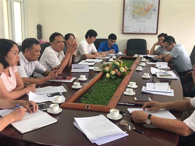 Khảo sát việc thực hiện các dự án đầu tư xây dựng huyện Gia Lâm thành quận đến năm 2025 tại các xã, thị trấn
