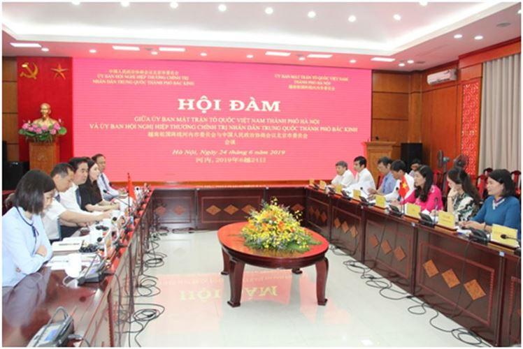 Hà Nội – Bắc Kinh: Tăng cường hợp tác chặt chẽ, đi vào chiều sâu