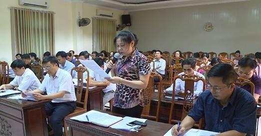 Huyện Phúc Thọ phản biện xã hội về báo cáo UBND huyện trình Kỳ họp thứ 10 HĐND huyện khóa XIX, nhiệm kỳ 2016-2021