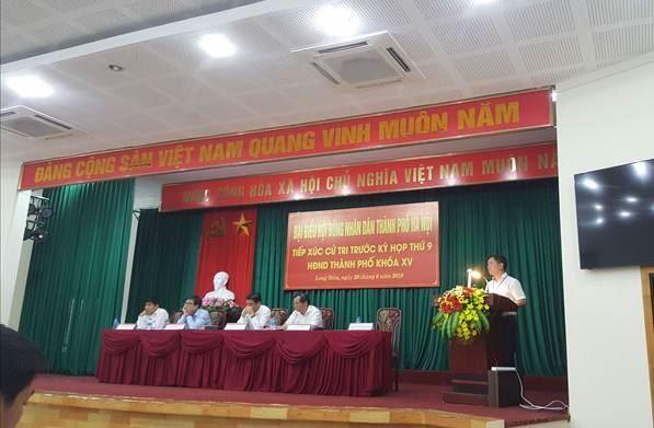 Đại biểu HĐND TP Hà Nội tiếp xúc cử tri trước kỳ họp thứ 9, HĐND TP khoá XV