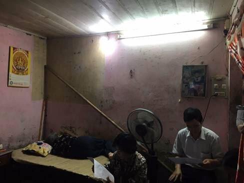 Ủy ban MTTQ Việt Nam quận Thanh Xuân hỗ trợ sửa chữa, xây mới nhà cho hộ cận nghèo trên địa bàn quận năm 2019