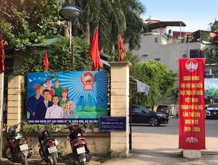 Ủy ban MTTQ quận Thanh Xuân tổ chức tuyên truyền về Đại hội MTTQ Việt Nam Thành phố Hà Nội lần thứ V, nhiệm kỳ 2019 - 2024