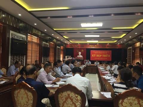 Hội nghị Ủy ban MTTQ Việt Nam thị xã Sơn Tây lần thứ 2.
