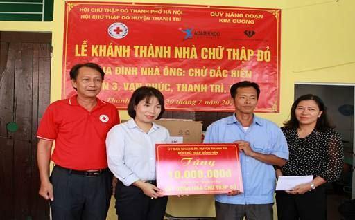 Huyện Thanh Trì khánh thành và bàn giao nhà cho hộ nghèo
