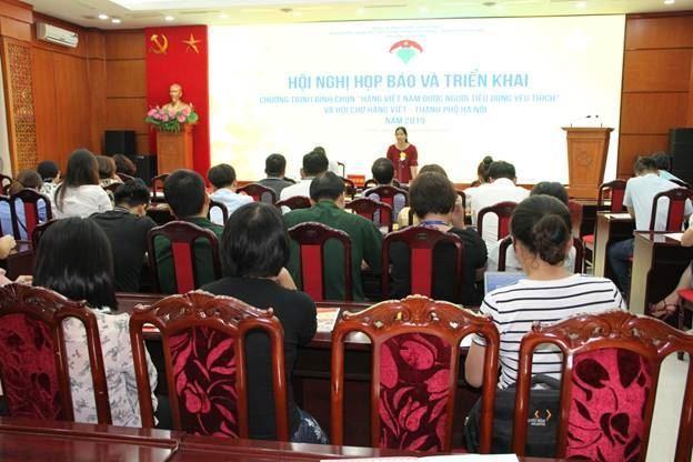 """Khởi động Chương trình bình chọn """"Hàng Việt Nam được người tiêu dùng yêu thích"""" năm 2019"""