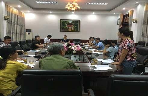 Thanh Trì kiện toàn Tổ dư luận xã hội của Ủy ban MTTQ và giao ban dư luận xã hội tháng 8/2019