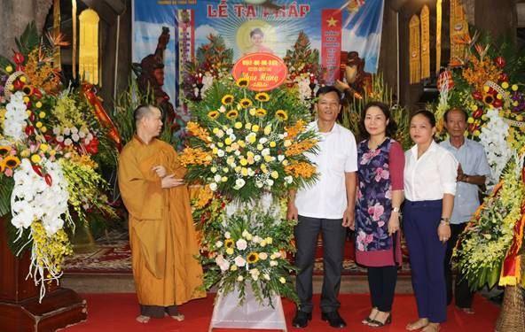 Lễ tạ pháp khoá An cư kiết hạ Chùa Thầy Phật lịch 2563- Dương lịch 2019