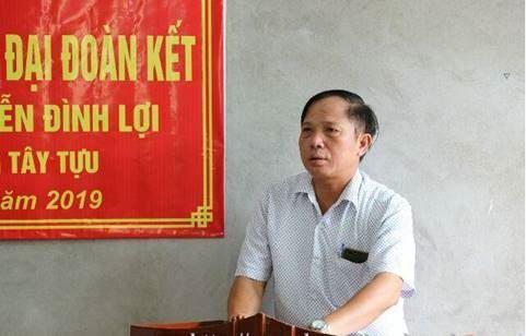 Ủy ban MTTQ Việt Nam quận Bắc Từ Liêm trao Nhà đại đoàn kết cho hộ nghèo phường Tây Tựu