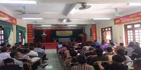Huyện Thanh Trì tổ chức tuyên truyền bảo vệ môi trường ứng phó với biến đổi khí hậu và phòng chống dịch bệnh sốt xuất huyết