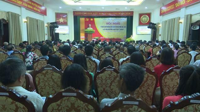 """Huyện Đông Anh tổ chức Hội nghị kỷ niệm 50 năm thực hiện Di chúc Chủ tịch Hồ Chí Minh và tuyên dương khen thưởng """"Người tốt – Việc tốt"""" năm 2019"""