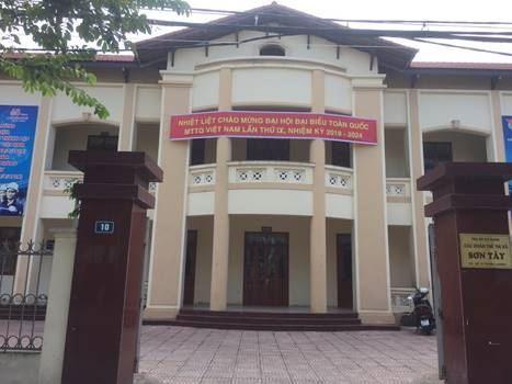 Thị xã Sơn Tây tuyên truyền Đại hội đại biểu toàn quốc MTTQ Việt Nam lần thứ IX, nhiệm kỳ 2019-2024.