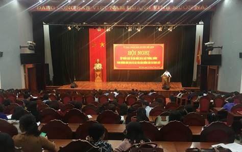 Ủy ban MTTQ Việt Nam huyện Mê Linh tổ chức hội nghị tập huấn về Luật Tố cáo năm 2018; Luật phòng, chống tham nhũng năm 2018.