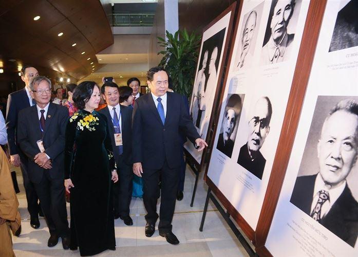 Khai mạc Triển lãm ảnh 'Phát huy sức mạnh khối đại đoàn kết toàn dân tộc'