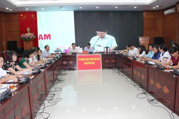 Hội nghị trực tuyến toàn quốc thông báo kết quả Đại hội MTTQ Việt Nam khóa IX