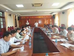 Ủy ban MTTQ Việt Nam huyện Mê Linh tổ chức hội nghị sơ kết công tác Mặt trận quý III năm 2019.