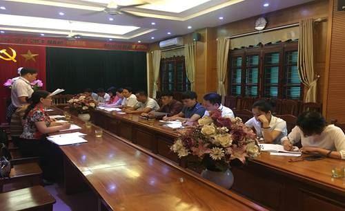 Huyện Thanh Trì phối hợp giám sát việc thực hiện các Quy định của Luật khiếu nại, Luật tố cáo, Luật tiếp công dân và thực hiện kết luận sau thanh tra.