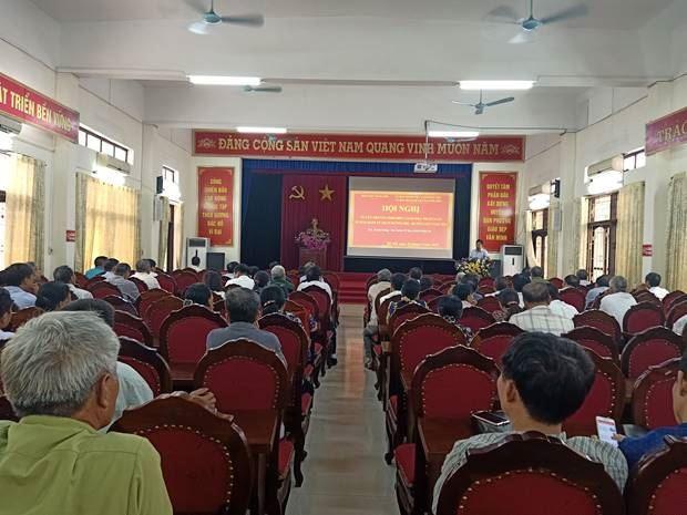 Ủy ban MTTQ Việt Nam huyện Đan Phượng tuyên truyền phố biến giáo dục pháp luật năm 2019