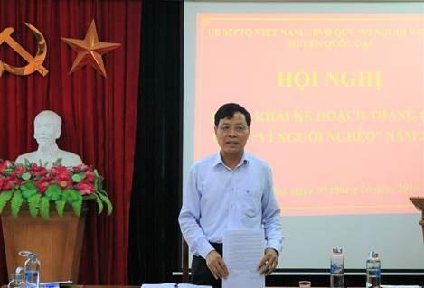 """Huyện Quốc Oai triển khai Tháng cao điểm """"Vì người nghèo"""" năm 2019"""