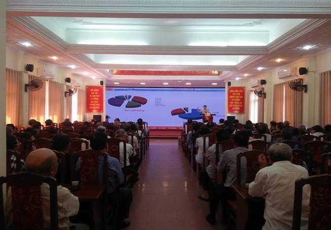 Ủy ban MTTQ Việt Nam quận Cầu Giấy tổ chức hội nghị tuyên truyền, phổ biến pháp luật về văn hóa tham gia giao thông năm 2019