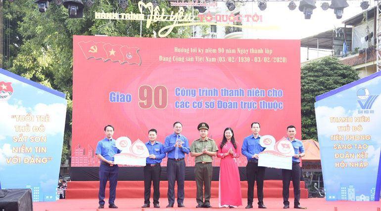 """Gần 700 thanh niên tham gia ngày hội """"Tôi yêu Tổ quốc tôi"""""""