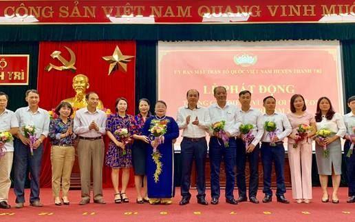 """Huyện Thanh Trì phát động tháng cao điểm ủng hộ quỹ """"Vì người nghèo"""" năm 2019"""