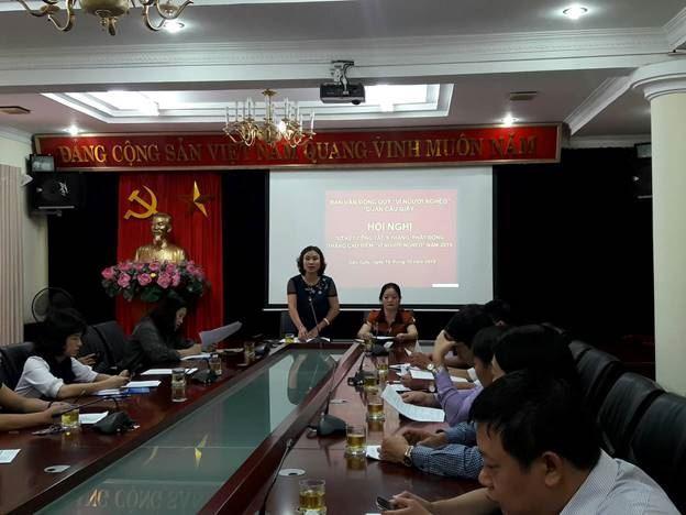 """Ủy ban MTTQ Việt Nam quận Cầu Giấy phát động tháng cao điểm ủng hộ quỹ """"Vì người nghèo"""" năm 2019"""