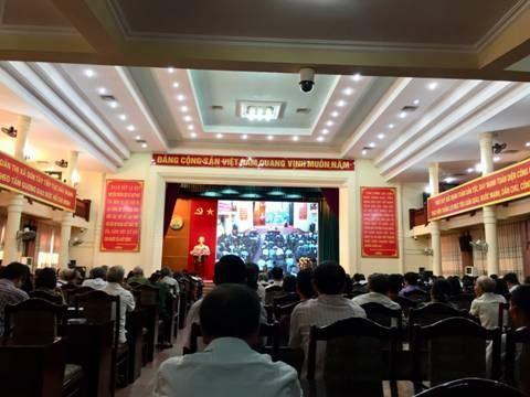 Thị xã Sơn Tây tổ chức đối thoại giữa đồng chí Bí thư Thị ủy và Chủ tịch UBND thị xã với đại diện Nhân dân.