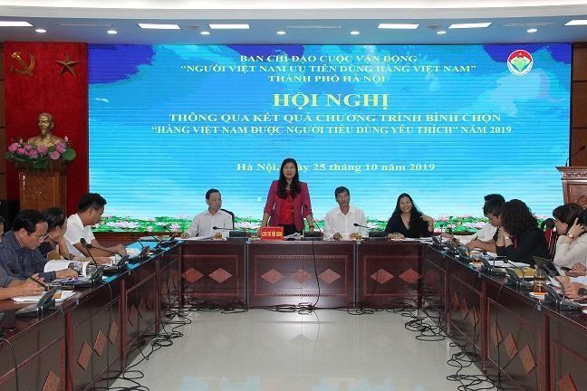 """146 sản phẩm, dịch vụ được bình chọn """"Hàng Việt Nam được người tiêu dùng yêu thích"""" năm 2019"""