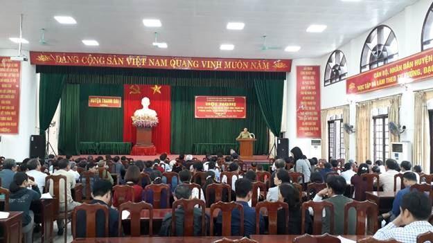 Huyện Thanh Oai tổ chức hội nghị tuyên truyền vận động toàn dân tham gia phòng ngừa, phát hiện, tố giác tội phạm năm 2019