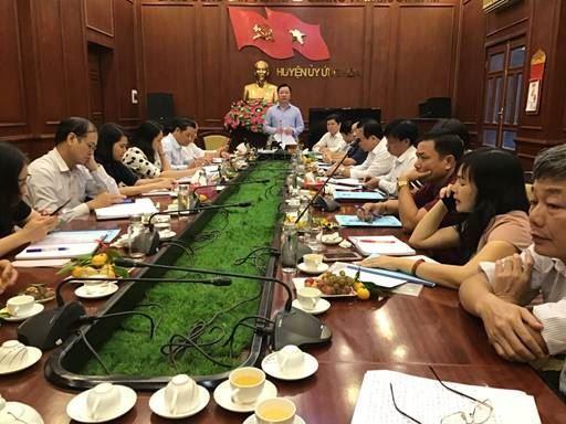 Cụm thi đua số 4 Ủy ban MTTQ Việt Nam thành phố Hà Nội tổng kết công tác thi đua khen thưởng năm 2019.