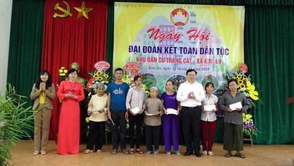 Không khí Ngày hội Đại đoàn kết trên địa bàn huyện Thanh Oai