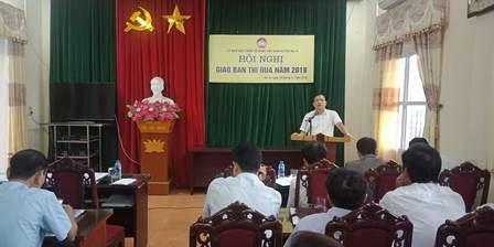 Ủy ban MTTQ Việt Nam huyện Ba Vì tổ chức Hội nghị giao ban thi đua năm 2019