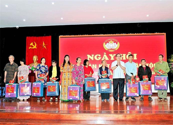 Quận Hoàn Kiếm Tưng bừng tổ chức ngày Hội Đại đoàn kết toàn dân tộc ở khu dân cư năm 2019