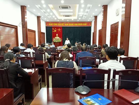 Gia Lâm tổ chức hội nghị giao ban công tác Khối vận – Mặt trận tổ quốc