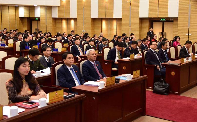 Khai mạc kỳ họp thứ mười một HĐND TP Hà Nội khóa XV: Đánh giá toàn diện kết quả đạt được năm 2019