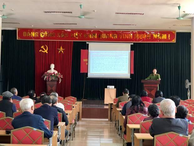 Ủy ban MTTQ Việt Nam quận Hoàng Mai tuyên truyền về công tác phòng cháy chữa cháy và cứu hộ cứu nạn