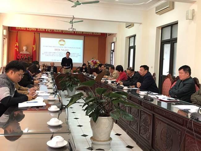 Tây Hồ phản biện xã hội vào dự thảo Kế hoạch phát triển kinh tế - xã hội năm 2020 của UBND quận