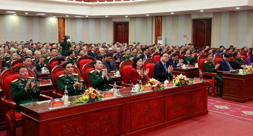 Gặp mặt đại biểu cán bộ cấp cao quân đội nghỉ hưu, nghỉ công tác trên địa bàn thành phố Hà Nội